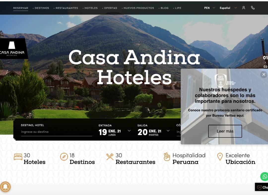 Casa Andina Agencia de Marketing Online en Palma de Mallorca