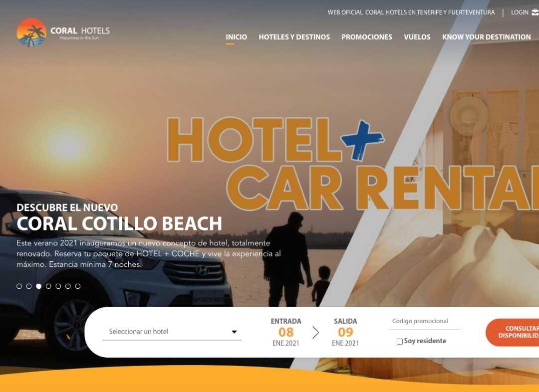 Coral Hoteles Foto para Green Cat Studio Servicio Facebook Ads en Mallorca