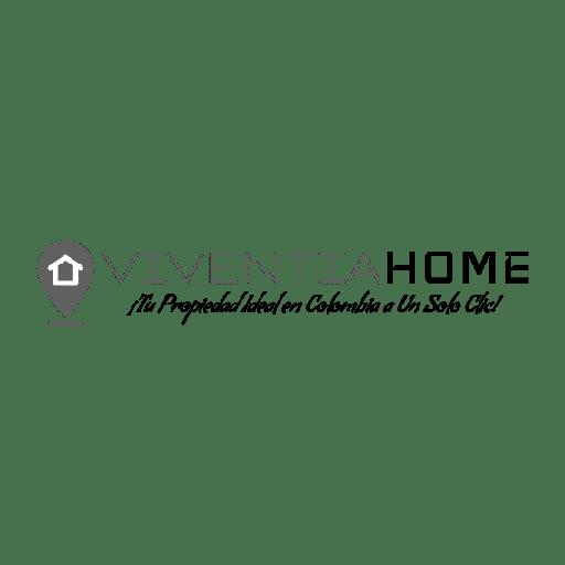 Logo Viventiahome en Green Cat Studio Mallorca