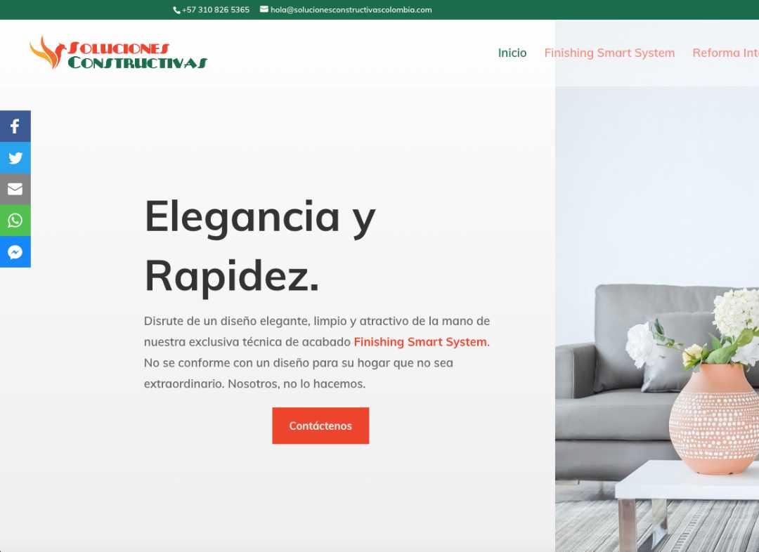 Soluciones Constructivas Foto para Green Cat Studio Servicio Diseño Web en Mallorca
