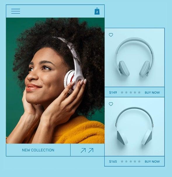 Wix ejemplo tienda online